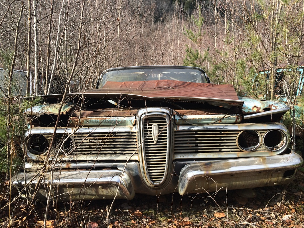 Old Time Vintage Car Junkyard - Travels In a Cab
